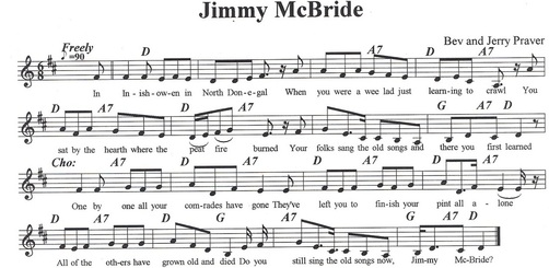 Jimmy McBride sheet music