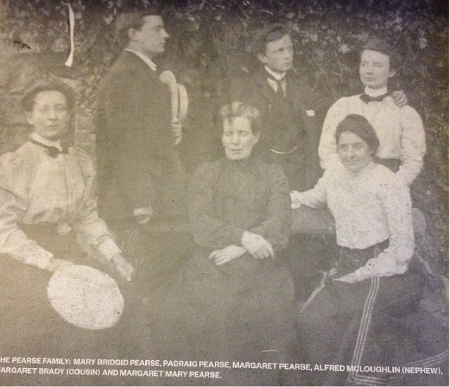 The Pearse family including Padraig and Willie Pearse