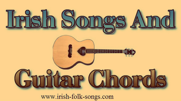 Irish folk song with guitar chords