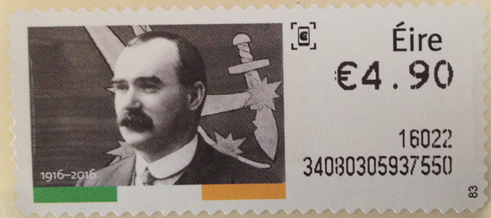 James Connolly stamp