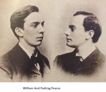 Willie and Padraig Pearse photo