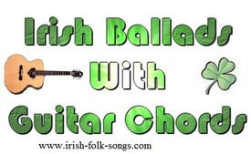 Irish ballads with guitar chords