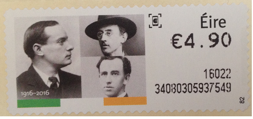 Patrick Pearse 1916 stamp