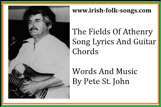 The fields of Athenry song