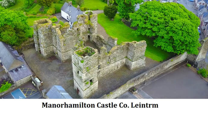 Manorhamilton Castle Co. Leitrim